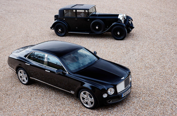 Mulsanne and 8 Litre, photo © BENTLEY Motors