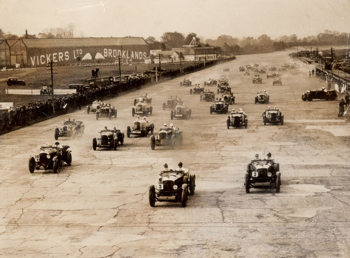 Brooklands racing heritage, photo © BENTLEY Motors