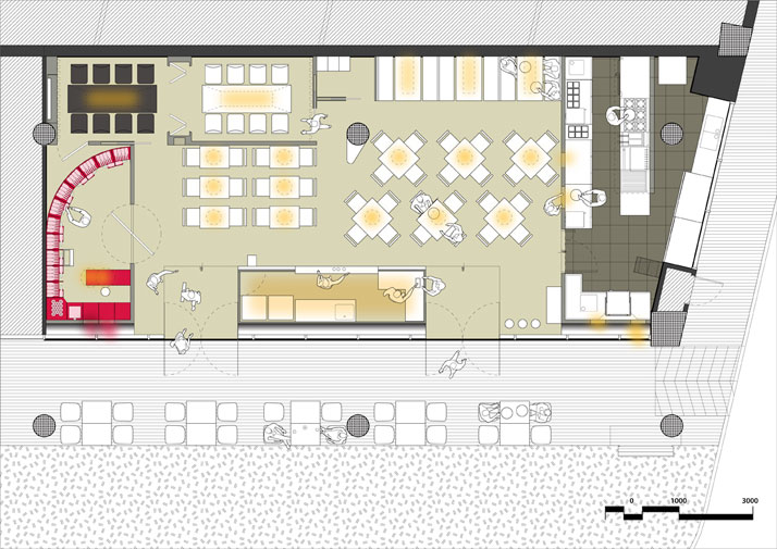 floor plan © Studio SKLIM