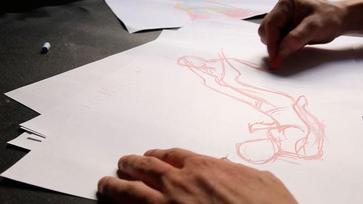 The making of Lana Sutra, © Erik Ravelo, Image Courtesy of United Colors of Benetton