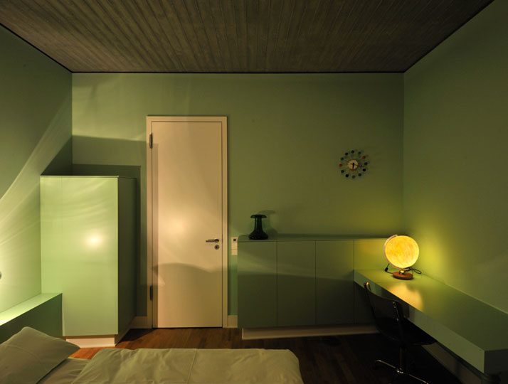 Guest room, photo © Gerrit Engel