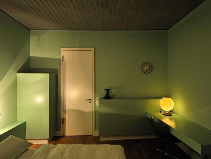 Guest room, photo © Gerrit Engel