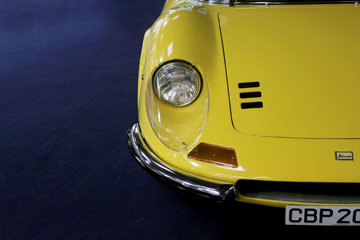 Ferrari Dino 246 GTS 1969, photo © Costas Voyatzis for Yatzer.com