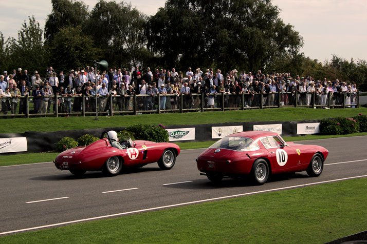 Ferrari 750 Monza  and  Ferrari 250 MM 1956, photo © Costas Voyatzis for Yatzer.com