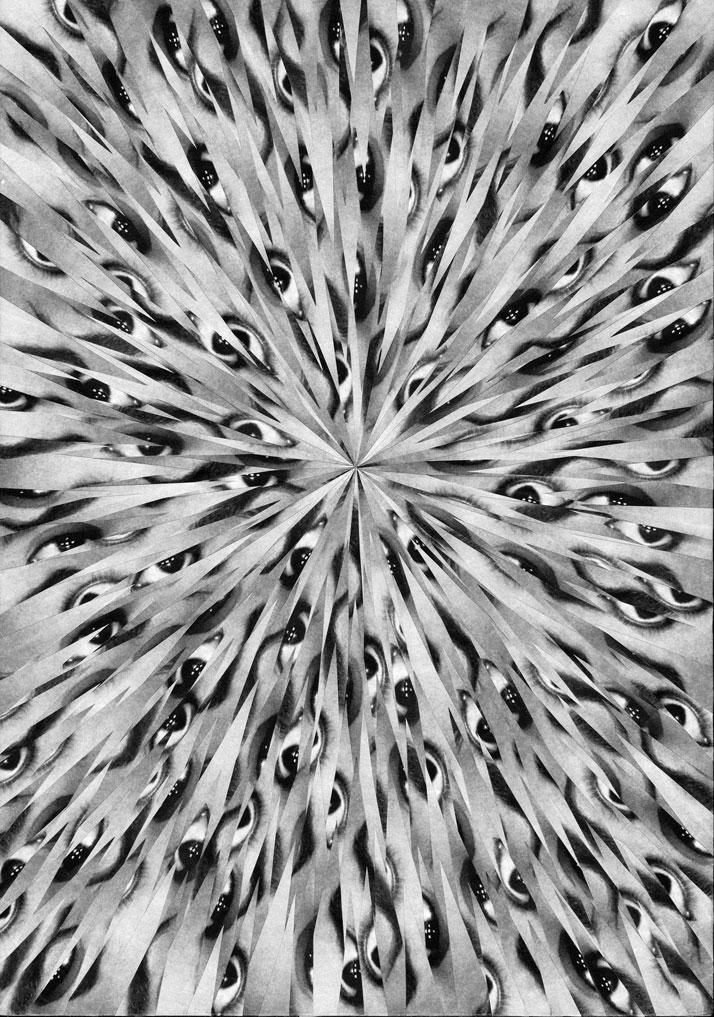 Exploded Human Eye // photo © Lola Dupré