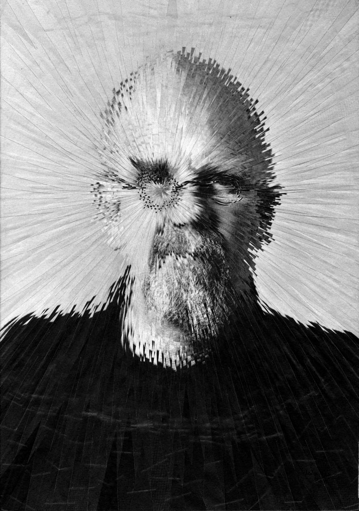 Exploded Chuck Close // photo © Lola Dupré