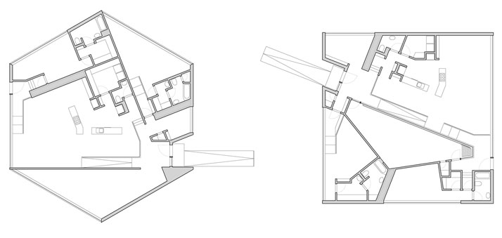 floor plans © William O'Brien Jr.