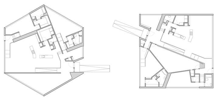 floor plans © William O'Brien Jr.