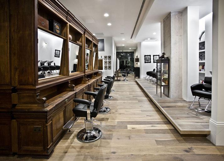 Ryan mc elhinney s salon for adee phelan yatzer for Deco salon de coiffure design