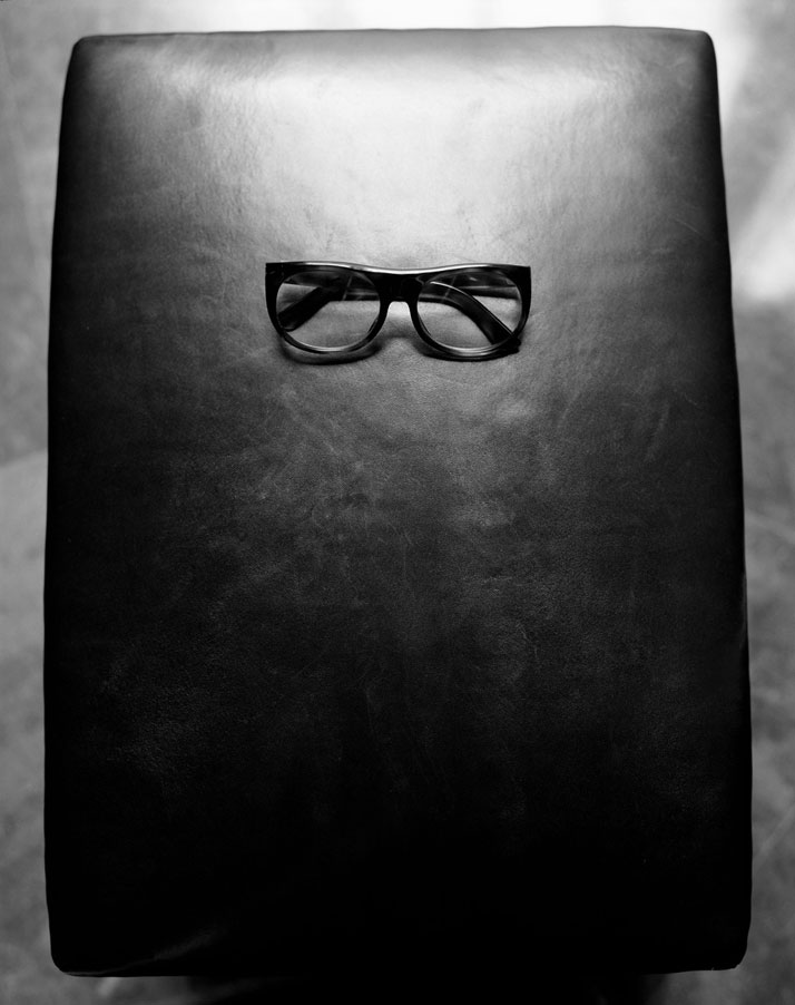 YSL's glasses, photo © Ivan Terestchenko
