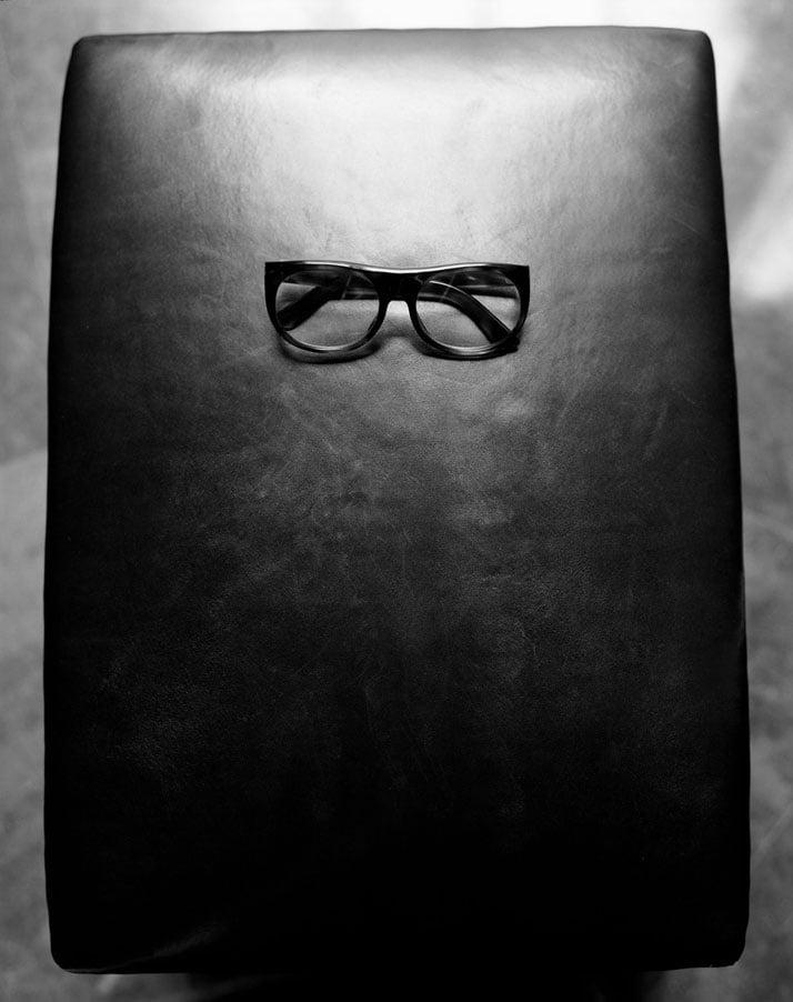 YSL's glasses, photo © Ivan Terestchenko