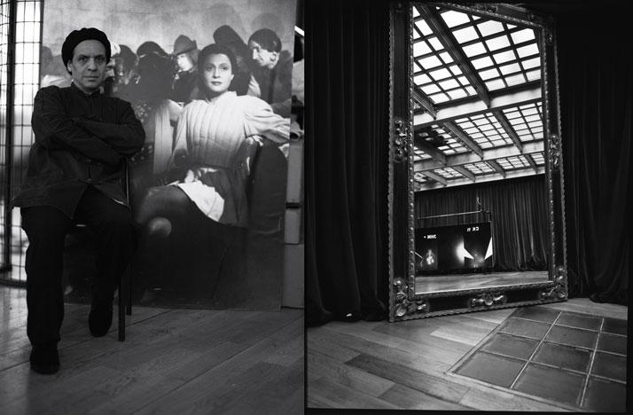 Azzedine Alaia photographed for Vogue Nippon, photo © Ivan Terestchenko