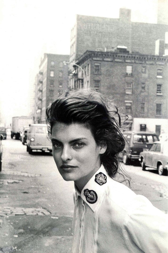 Autumn Winter 1988-89(New York) Linda Evangelista by Peter LindberghImage Courtesy of ASPESI (Archives)