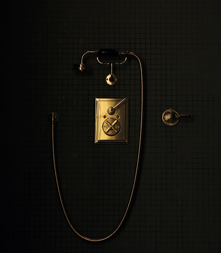 Chevigné bathroom (detail), Hôtel du Marc.photo © Costas Voyatzis for Yatzer.com