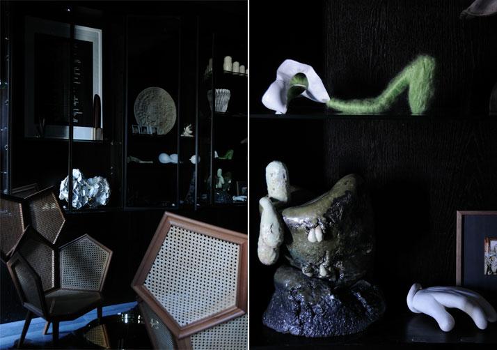 Suite 142 - Cabinet de curiosités, photo © Ivan Terestchenko Image Courtesy of L'Officiel, Paris (September 2011)