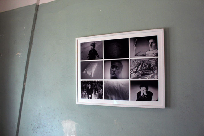 3rd Athens Biennale 2011 MONODROMEYannis TheodoropoulosIoannis o Viaios, 2009Polyptych of photographs in wooden frame, 95x76 cmCourtesy of the Artist