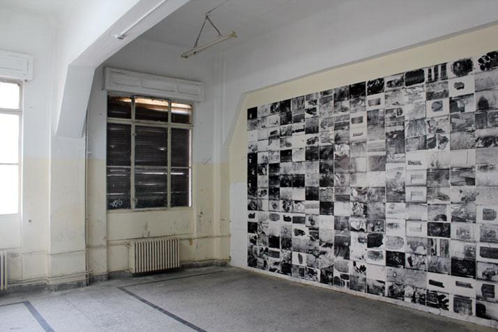 3rd Athens Biennale 2011 MONODROMERena PapaspyrouPhotocopies (1980) Photocopies, 252 items29,7 x 21 cm each, total size 5,34 x 2,94 m installation vie