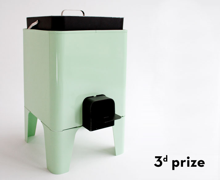 Ecojoe stove by Jarl FernaeusImage Courtesy of Prix Émile Hermès, 2011