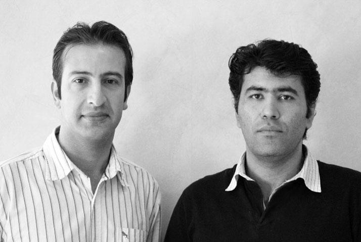 Mohsen Saleh and Seyed Abdolnasser Taghavi Image Courtesy of Prix Émile Hermès, 2011