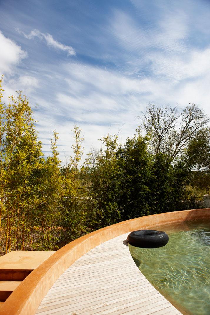 Outdoor pool,  photo © Babylonstoren