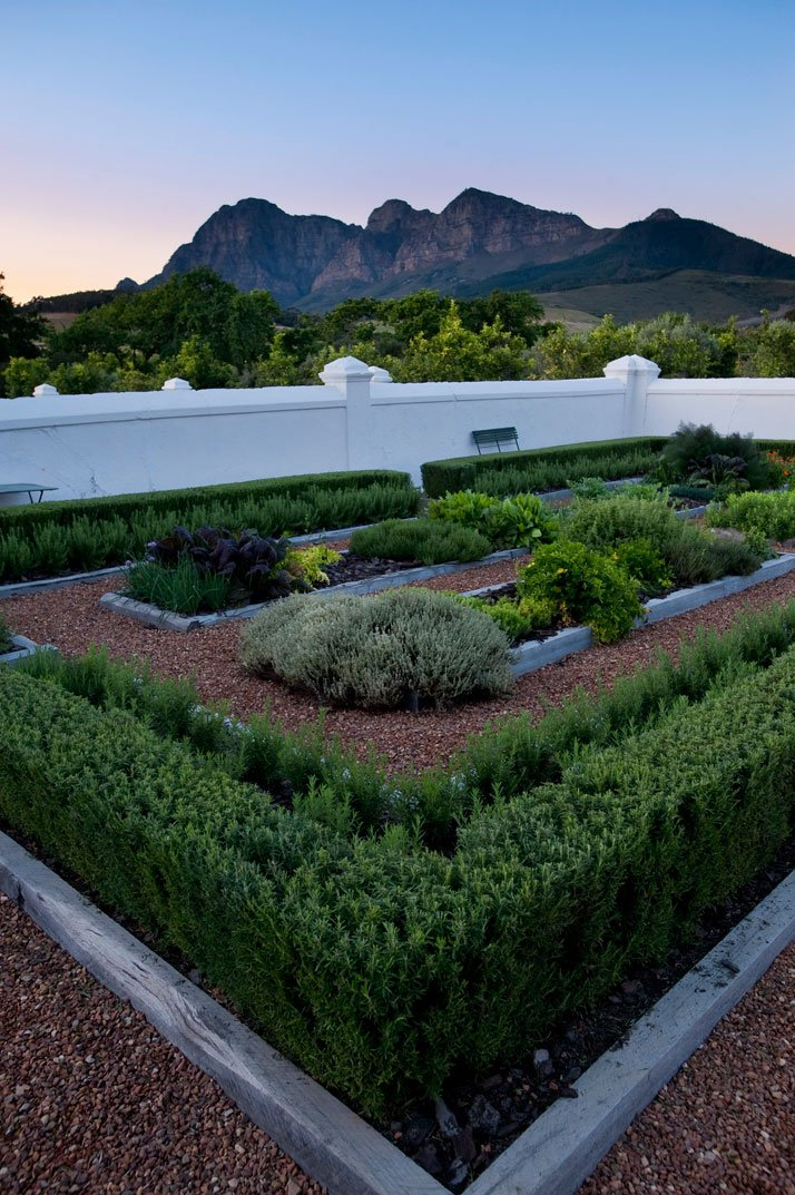 Walled kitchen garden,  photo © Babylonstoren