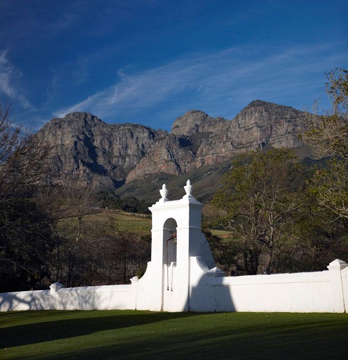 Historical Cape Dutch architecture,  photo © Babylonstoren