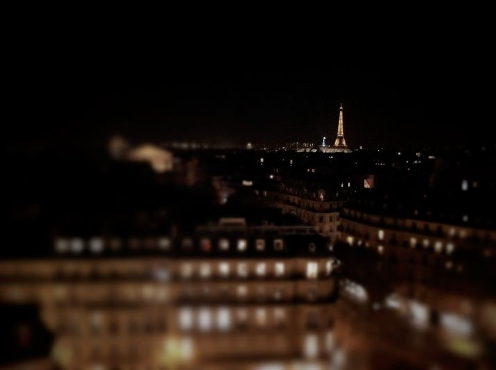 View of Paris from the roof of Printemps, photo © Costas Voyatzis for Yatzer.com