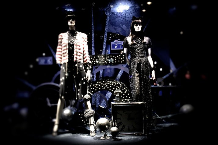 'Dreams Of Far Away' by Karl Lagerfeld for Printemps Karl Lagerfeld and CHANEL for Printemps xmas windows 9 November 2011 Paris  photo Costas Voyatzis for yatzer 16