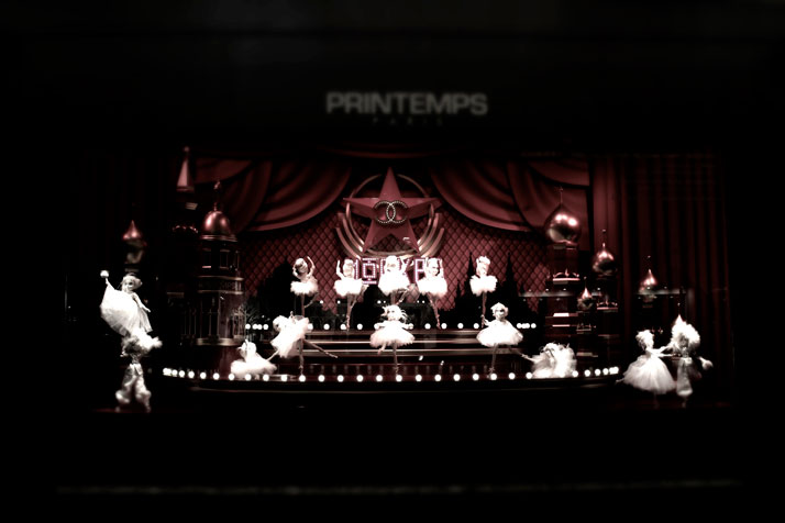 'Dreams Of Far Away' by Karl Lagerfeld for Printemps Karl Lagerfeld and CHANEL for Printemps xmas windows 9 November 2011 Paris  photo Costas Voyatzis for yatzer 17