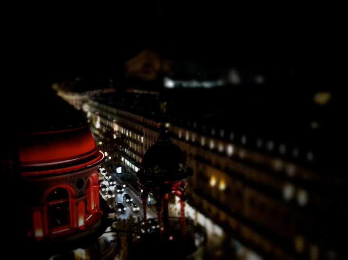 View from the Roof of Printemps, photo © Costas Voyatzis for Yatzer.com