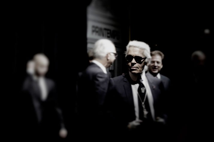 Karl Lagerfeld Yatzerized, photo © Costas Voyatzis for Yatzer.com