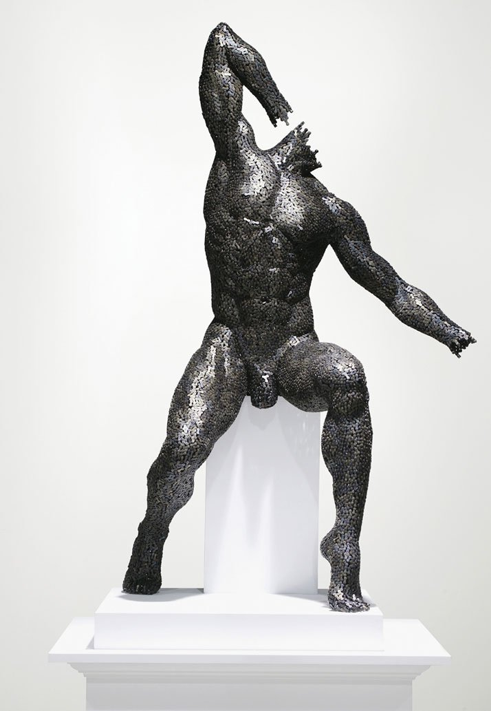 Seo Young Deok S Incredible Chain Sculptures Yatzer