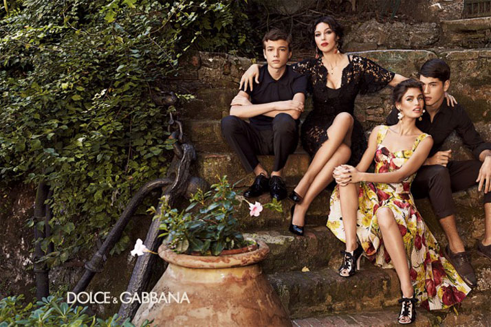 Monica Bellucci and Bianca Balti for the womenswear SS2012 campaign