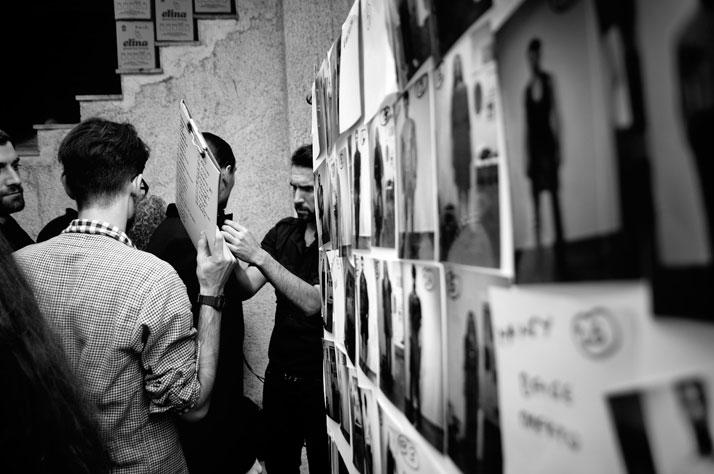 DOGMA FW11-12 (backstage), DIMITRIS PETROU, photo © Christos Arazos