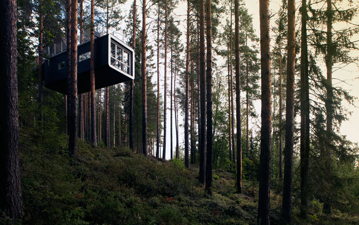 The CabinPhoto© Peter Lundstrom, WDO | Treehotel