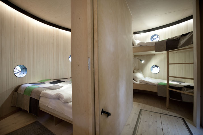 The Birds nest (interior)Photo © Peter Lundstrom, WDO | Treehotel