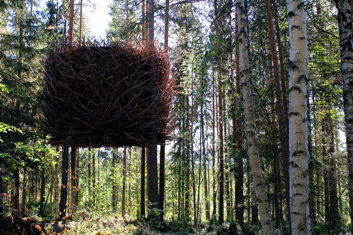 The Birds nestPhoto © Peter Lundstrom, WDO | Treehotel