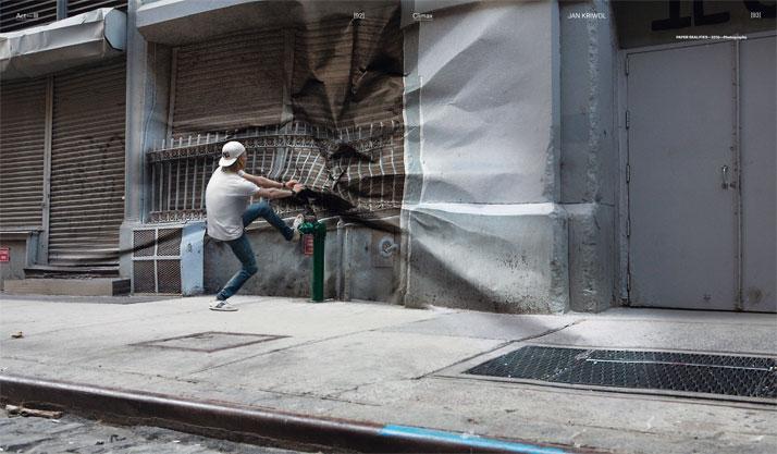 Paper realities by photographer Jan Kriwol, 2010Image Courtesy of Gestalten
