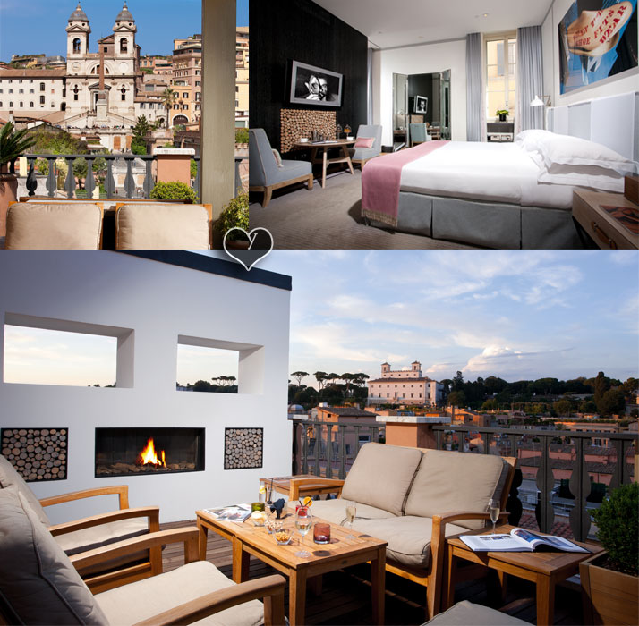 Images Courtesy of Portrait Suites, Rome | ITALY