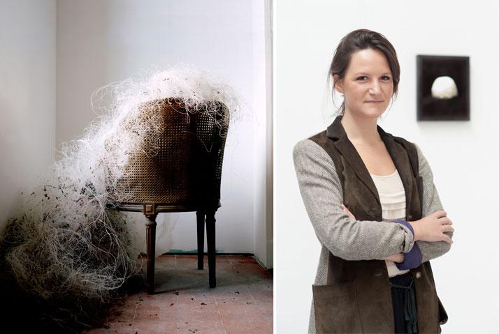 right: Les Amants (Filet), Colour Photograph, 90 x 111 cm, 2009left: Noemie Goudalphoto © Noemie Goudal