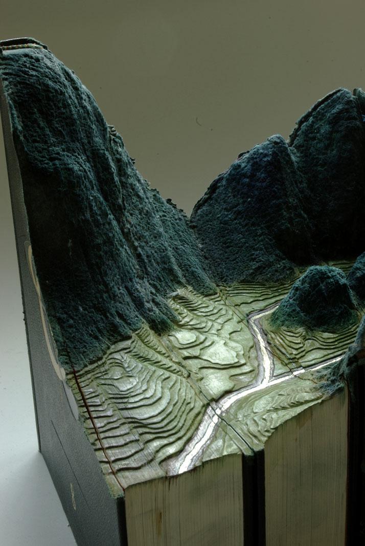 Grand Larousse (2010), detail photo © Guy Laramée