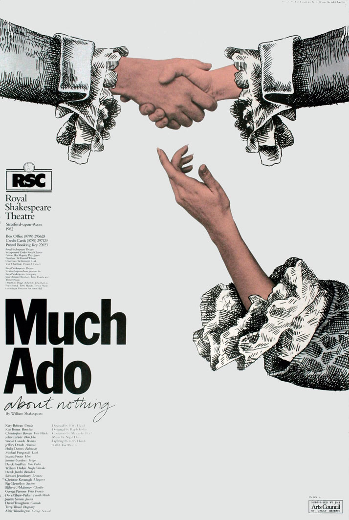 Much Ado About Nothing // Royal Shakespeare Company, 1982Image Courtesy of John Lloyd Archive
