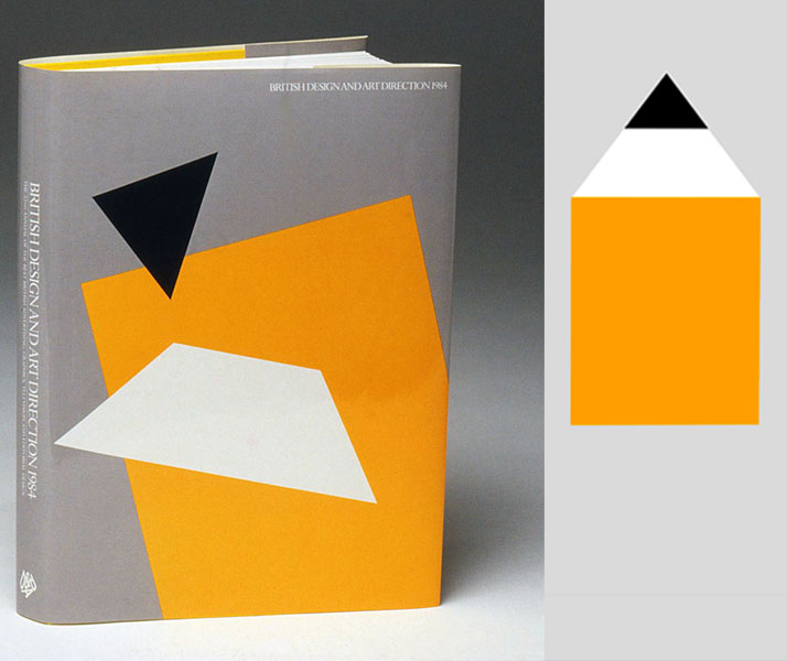 D&AD Annual // The famous yellow pencil is deconstructed and rearranged to create a  series of abstract images for use on the book's cover and sec