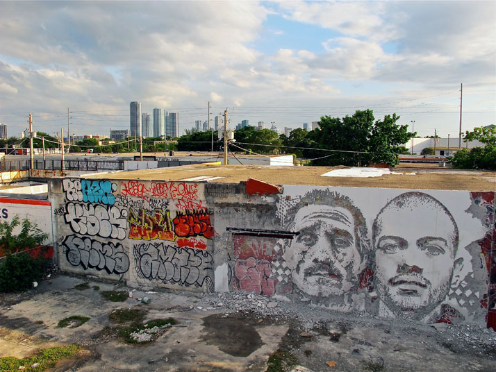 name: Scratching the Surface Projectlocation: Wynwood Walls, Miami, USAtechnique: Mixyear: 2011photo © Alexandre Farto