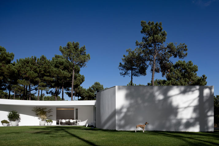 house in aroeira portugal by aires mateus yatzer. Black Bedroom Furniture Sets. Home Design Ideas