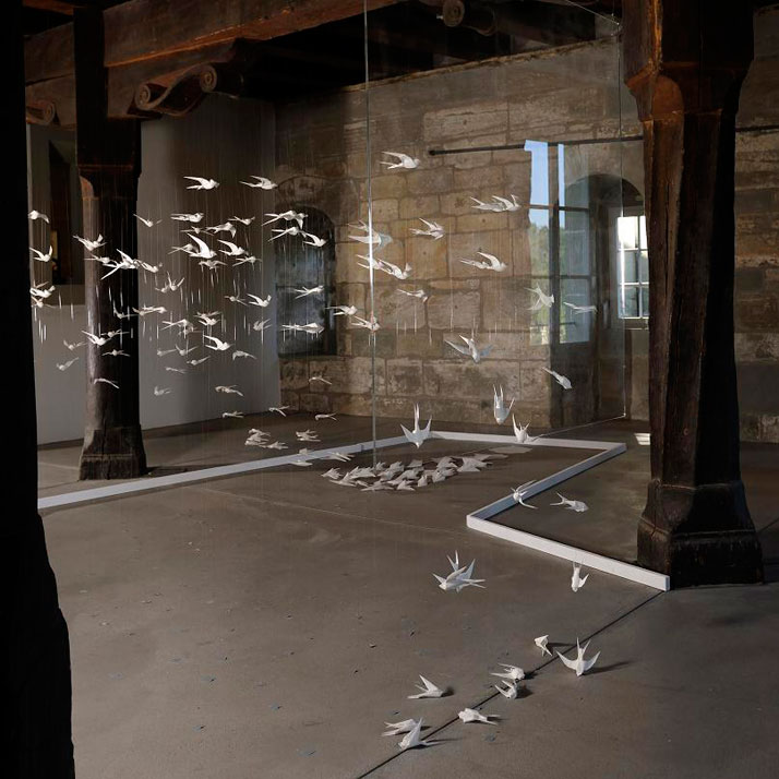 'INVISIBLE FOES' at the Gutenberg Museum in Fribourg, Switzerland, 2010
