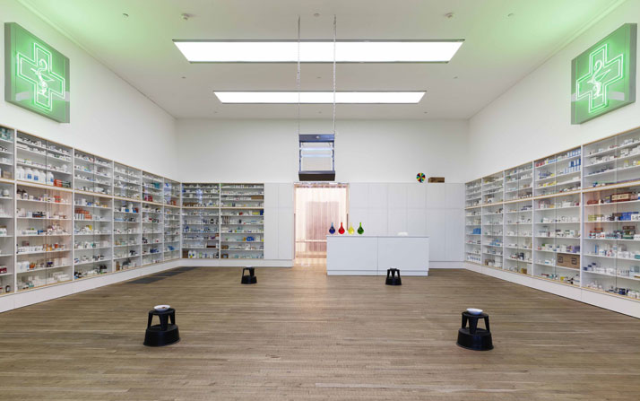 Damien Hirst  Pharmacy 