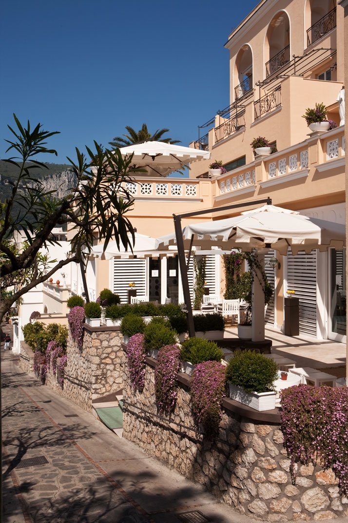 photo © Capri Tiberio Palace