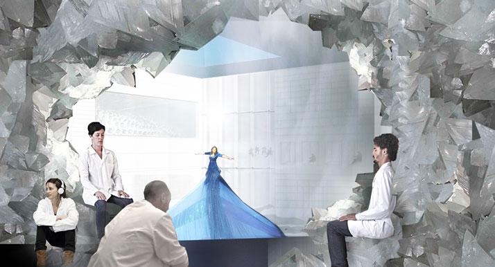 Abramovic Method / Crystal Room Image Courtesy OMA