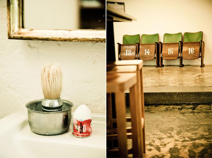 Barber shop, photo © Hotel Wiesler